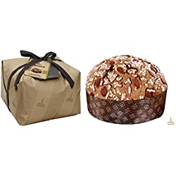 Fiasconaro Mandorle Traditional Raisin Panettone With Almond Icing 26.45 Ounce (750 Gram)