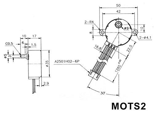 Amazon Com 12vdc Stepper Motor 60ma Home Improvement