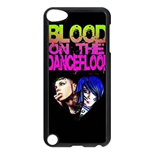 Gators Florida USA-5 Music Band Blood on the Dance Floor Print Black Case With Hard Shell Cover for iPod Touch 5th