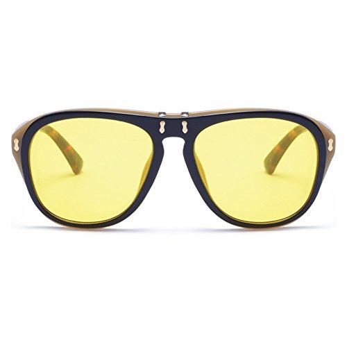 calle moda gafas con fiesta de gafas gafas novedad frame gafafs sol de de diseño nuevo de regalo de 2018 de gafas moda gafas de Red de Negro de de Azul Ocean Frame big tipo adorno upturning cumpleaños Red FwOHS1