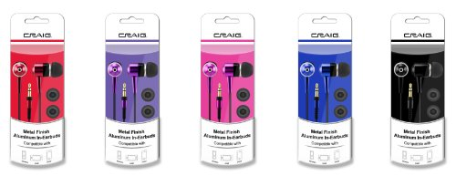 craig-metallic-finish-aluminum-in-earbuds-chp4823-color-may-vary