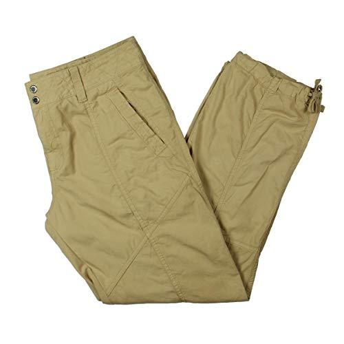 - Lauren Ralph Lauren Womens Faldrina Casual Adjustable Cargo Pants Tan 14