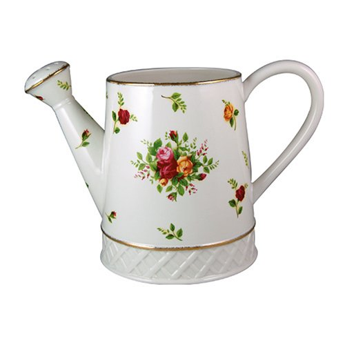 Royal Albert Old Country Roses Watering Can Vase/Planter