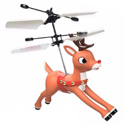 Rudolph the Red-Nosed Reindeer Magic Hand Controlled Flyer