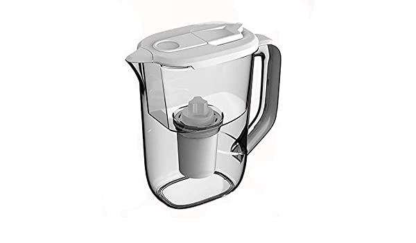 GINVF Filtro de Agua Pura Sana Jug 2.5L con Cartucho de Repuesto ...