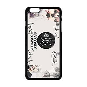 5 Seconds Of Summer Fashion Comstom Plastic case cover For Iphone 6 Plus hjbrhga1544