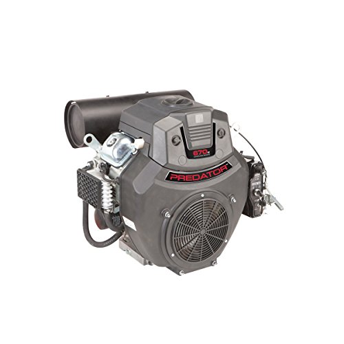 22 HP (670cc) V-Twin Horizontal Shaft Gas Engine EPA Predator ()