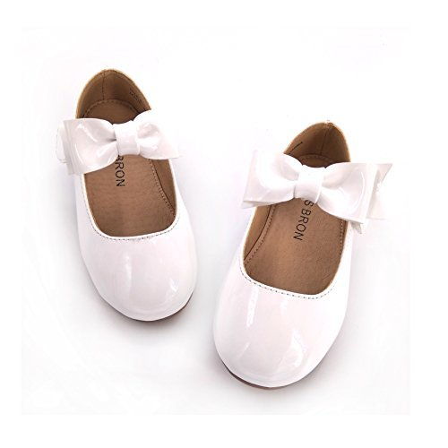 Bear Mall Girls' Shoes Girl's Ballerina Flat Shoes Mary Jane Dress Shoes (Little/Toddler Girls Shoes/Big Kids) -