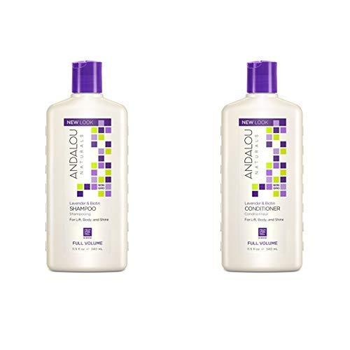 Andalou Naturals Lavender & Biotin Full Volume Shampoo + Conditioner (Andalou Lavender & Biotin Full Volume Shampoo)