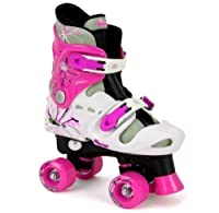 Osprey Skates - Mädchen Quad Rollschuhe Kinder Stiefel Einstellbar