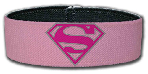 Superman DC Comics Superhero Pink Logo Plastic (Super Ray Costume)