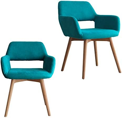 picture of Lansen Furniture (Set of 2) Modern Living Dining Room Accent
