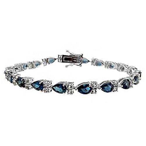 Robert Manse Designs Gem RoManse Perfect Pear Tennis Bracelet (Bracelet Pear Tennis)