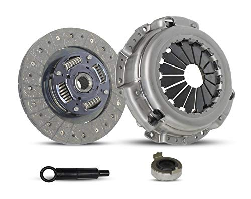Clutch Kit Works With Honda Prelude Base Type SH S VTEC Si 4WS Si 1992-2001 2.2L l4 GAS SOHC 2.3L l4 GAS DOHC Naturally Aspirated F22; H22; H23) ()