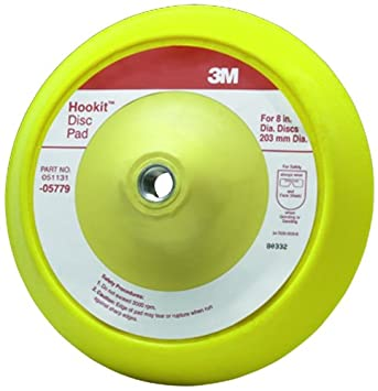 3M 05782 Hookit 8' Dust Free Disc Pad