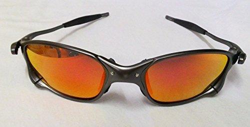 Ppmart Juliet K004 Aluminum Alloy Frame & Blue Revo Lens Polarized - Aluminium Sunglasses