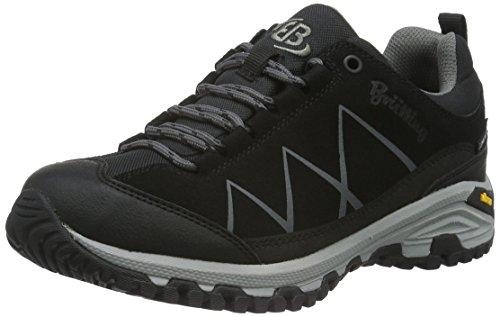 Unisex Adulto Schwarz Anthrazit Schwarz Rise Low Zapatos de Anthrazit Kansas Bruetting Negro Senderismo wx1gY06wq