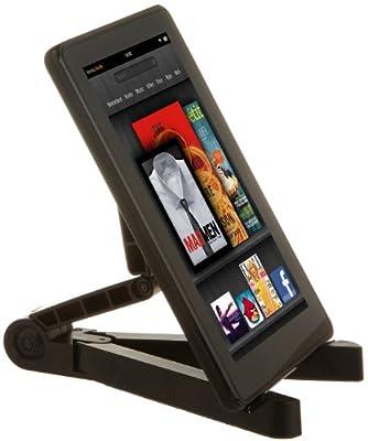 Amazonbasics Portable Fold-up Travel Stand For The Ipad Ipad 2 Samsung Galaxy Tab 101 And 70 Kindle Fire Kindle Fire Hd Kindle Touch Black from AmazonBasics