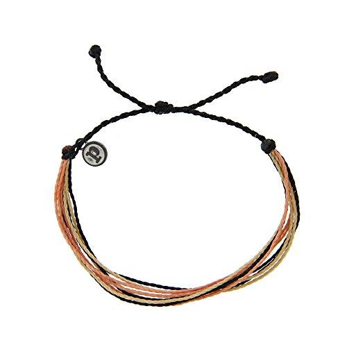 Pura Vida Copacabana Bracelet - Iron-Coated Copper Charm, Adjustable Band - 100% Waterproof