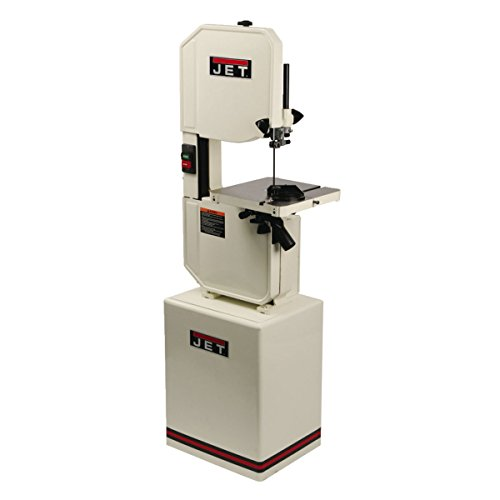 JET J-8201K 14-Inch 115-Volt Single Phase Vertical Metal/Wood Bandsaw by Jet