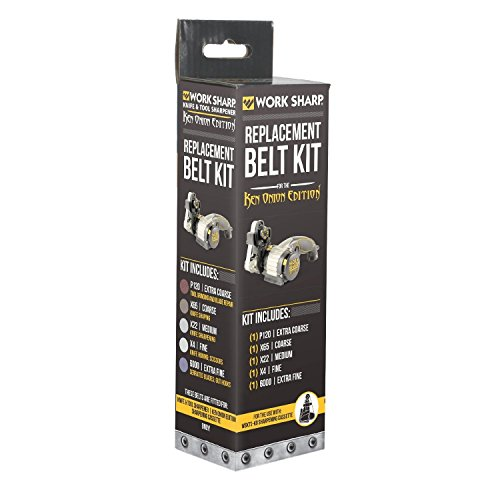 Work Sharp. Official Replacement Belt Kit for the Knife and