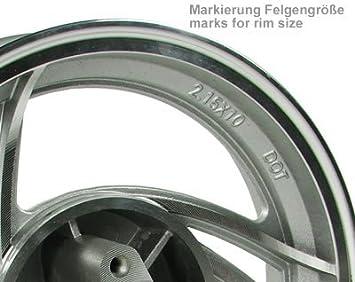 Flex Tech-Sprint-10 50 SK50QT-A Felge vorne Scheibenbremse 10 Zoll 3 Speichen Stern Alu