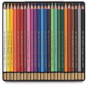 Koh-I-Noor Mondeluz Aquarelles Watercolor Pencils - Aquarelle Pencils, Set of 24 Colors