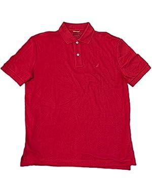 Men's Classic Fit Solid Interlock Polo T-Shirt