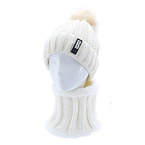 MASTER-Halloween Navidad sombreros  beanie Mujer sombreros tejidos  jóvenes engrosada f0d7507628c