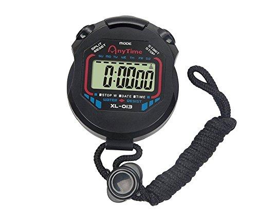 Advanced Chronograph Timer (Hewnda Professional digital handheld chronograph sports stopwatch timer stopwatch)