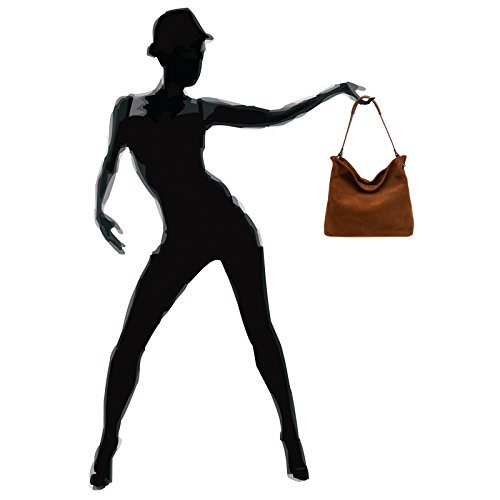 Cross Womens Suede Made Bag Handbag Caspar Tl580 Shoulder Body Many Cognac Colours From wSTI1nRqn