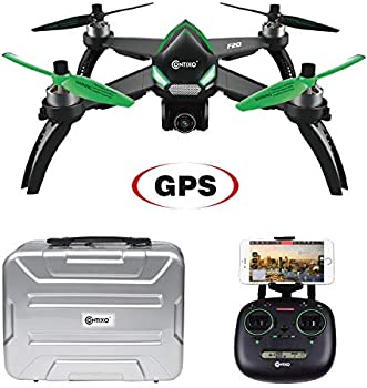 Contixo F20 RC Remote App Controlled Quadcopter Drone Bundle