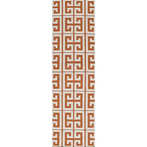 (Momeni Rugs LAGUALG-05TUP2380 Laguna Collection, 100% Wool Hand Woven Flatweave Contemporary Area Rug, 2'3