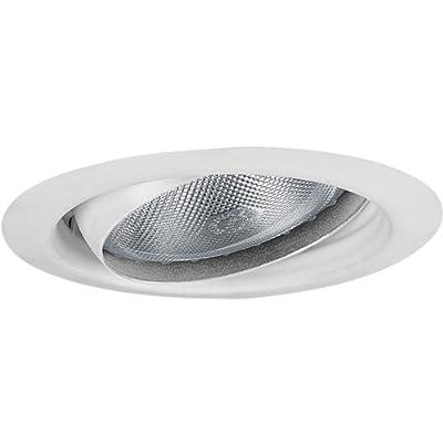 Progress Lighting P8176-28 5-Inch Eyeball Trim, Bright White