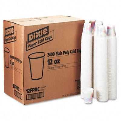 ge Collection, 12 Oz, 2400 per CT (24 pks of 100) DXS12FPSAGE (Paper Cold Cup Sage)