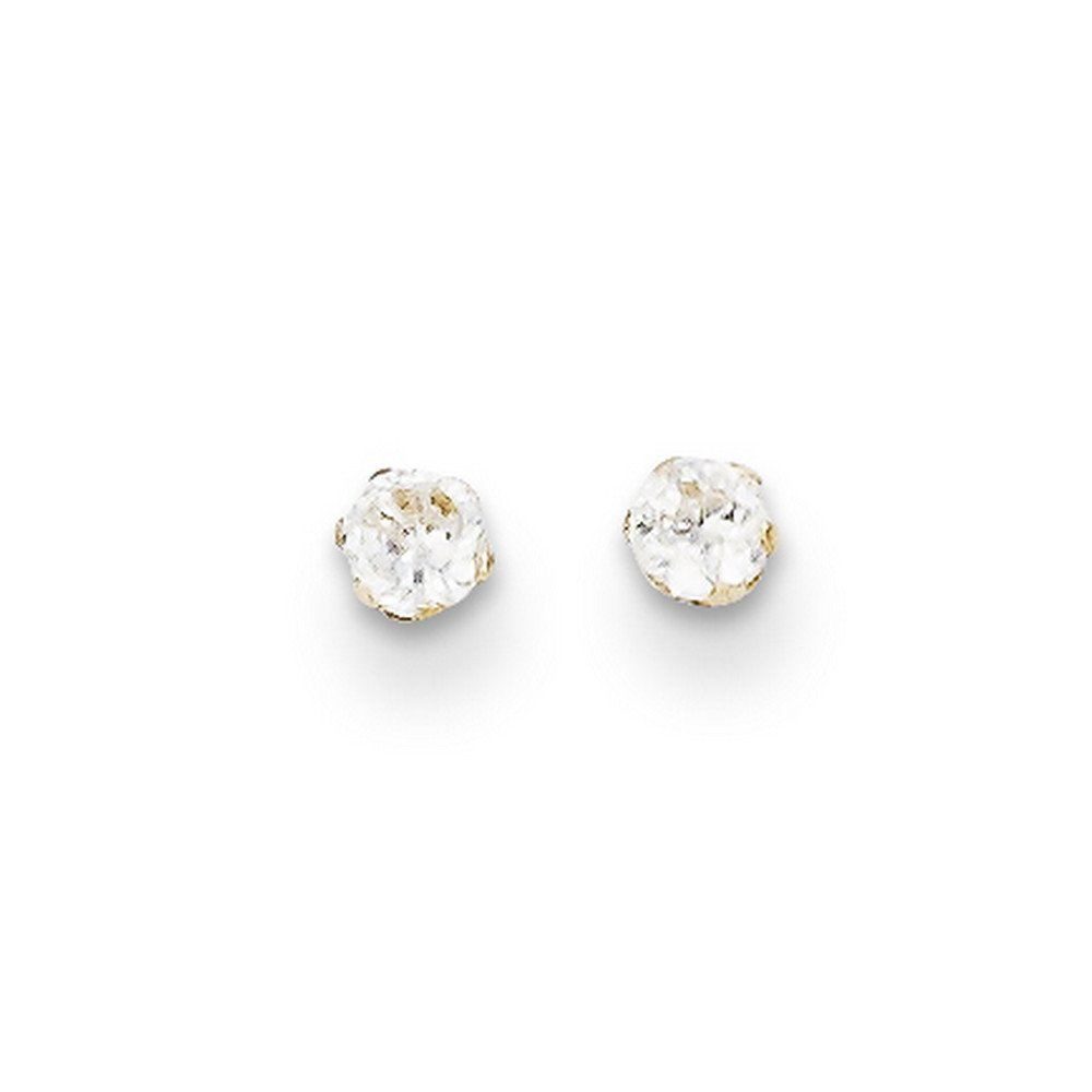 14k Madi K Cz Stud Post Earrings