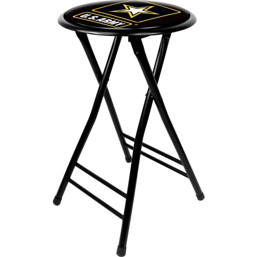United States Army Cushioned Folding Stool, 24