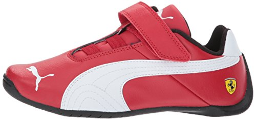 Image of PUMA Kids' Scuderia Ferrari Future Cat Hook and Loop Sneaker,