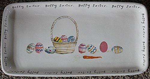 lection Happy Easter Basket Serving Platter - 14.25