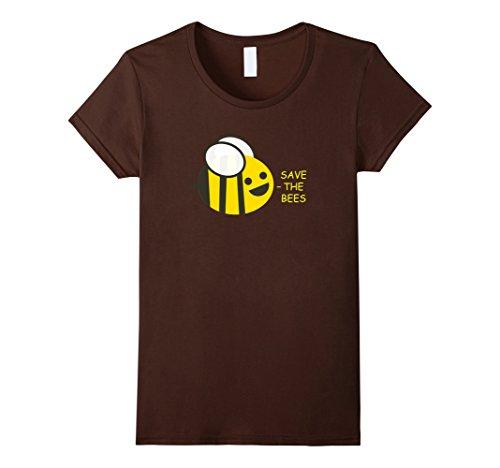 [Women's Cute Honey Bumble Bee Boys Girls Men Women Kids Gift Ideas Medium Brown] (Cute Honey Bee Costumes)