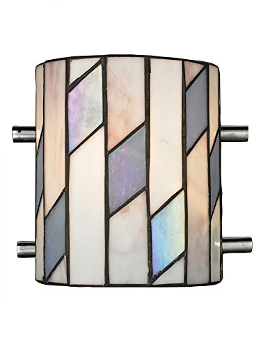 Dale Tiffany TW13015 Glacier Wall Sconce, Chrome ()