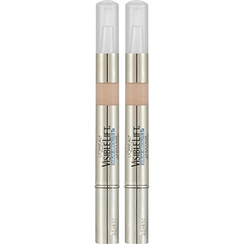 L'Oreal Paris Cosmetics Visible Lift Serum Absolute Concealer, Light, 2 Count by L'Oreal Paris