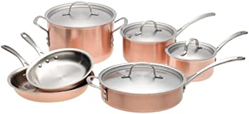 Calphalon T10 Tri-Ply Copper 10-Piece Set