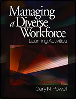 Managing a Diverse Workforce: Learning Activities