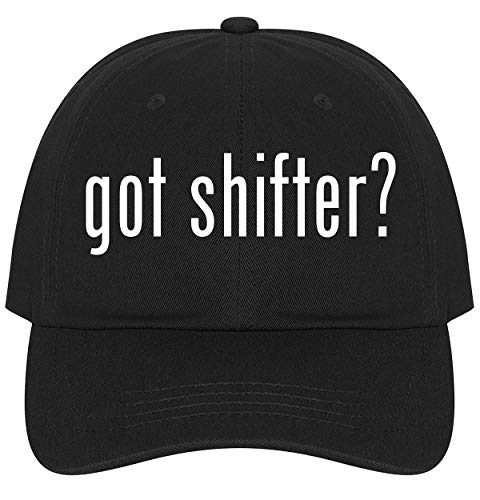 The Town Butler got Shifter? - A Nice Comfortable Adjustable Dad Hat Cap, Black
