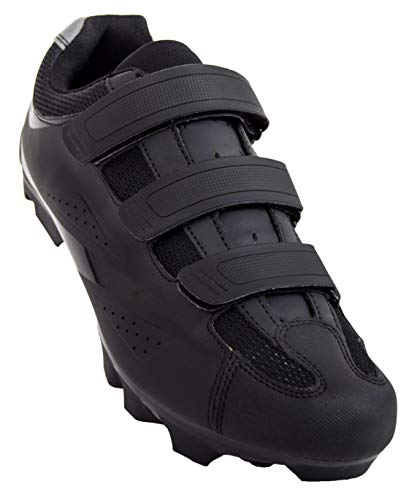 Tommaso Montagna 100 Men's Mountain Bike MTB Cycling Shoe Compatible with SPD Cleats Black