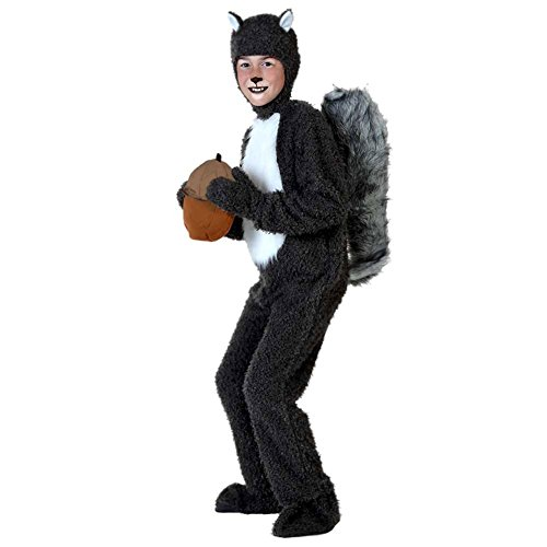 (CH&Q Kids Adult Toga Squirrel Costumes Halloween Fancy Dress Animal Cosplay)