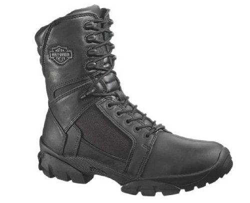 (Harley-Davidson Men's Lynx Waterproof Boot,Black,9 M US)