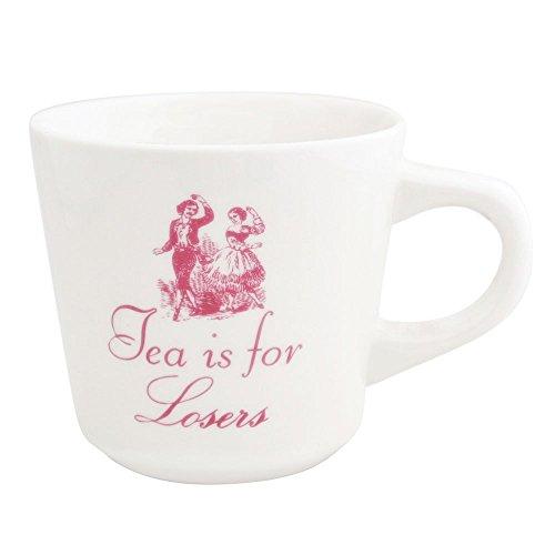 Tea is for Losers 12oz Ceramic Coffee - Fish Victorian