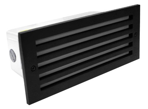 Royal Pacific 8907SL Fluorescent Exterior Step Light, 13-Watt, Available in Black or White, Face Plate not Included